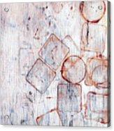 Circles And Squares Acrylic Print