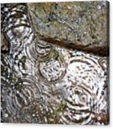 Circles Of Water Acrylic Print