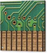 Circuit Life Acrylic Print by Patrick English