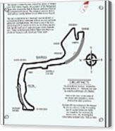 Circuit Of Monaco Acrylic Print