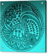 Circular Art Acrylic Print