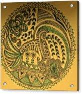 Circular Artwork Acrylic Print