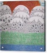 Circular Landscape Acrylic Print