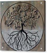 Circular Tree Of Life  Acrylic Print