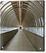 Circular Tunnel Acrylic Print