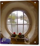 Circular Window Acrylic Print