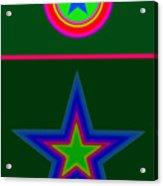 Circus Green Acrylic Print