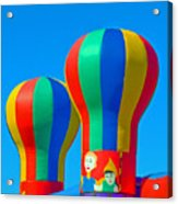Circus In The Sky - Three Acrylic Print