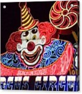 Circus Neons Acrylic Print