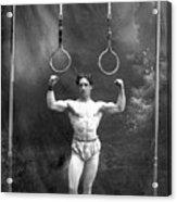 Circus Strongman, 1885 Acrylic Print