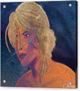 Ciri The Witcher 3 Wild Hunt Fanart Attempt Acrylic Print