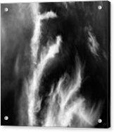 Cirrus Clouds Nature Patterns Acrylic Print