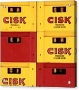 Cisk Larger Beer Acrylic Print