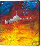 Citadelle Andalouse Acrylic Print