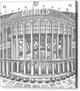 Citi Field Acrylic Print by Juliana Dube