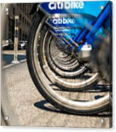 Citibike Manhattan Acrylic Print