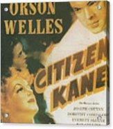 Citizen Kane - Orson Welles Acrylic Print