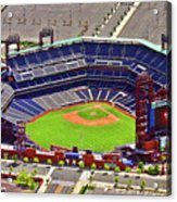 Citizens Bank Park Phillies Acrylic Print by Duncan Pearson