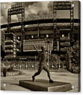 Citizens Park Panoramic Acrylic Print