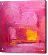 Citrus Blush Acrylic Print