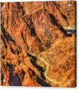 City - Arizona - Grand Canyon - A Look Into The Abyss Acrylic Print
