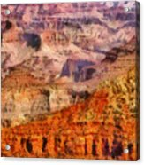 City - Arizona - Grand Canyon - Kabob Trail Acrylic Print