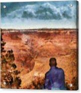 City - Arizona - Grand Canyon - The Vista Acrylic Print