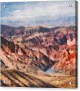 City - Arizona - Grand Hills Acrylic Print