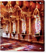 City - Vegas - Excalibur - In The Great Hall  Acrylic Print