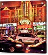 City - Vegas - O'sheas Casino Acrylic Print