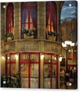 City - Vegas - Paris - Le Cafe Acrylic Print