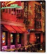 City - Vegas - The Pizza Joint Acrylic Print