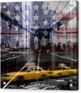 City-art Nyc Composing Acrylic Print