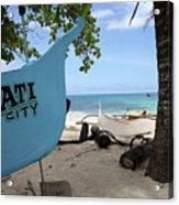 City Beach Acrylic Print