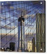 City Between The Bridge Acrylic Print