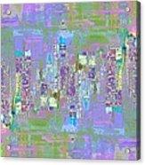 City Blox Light Acrylic Print