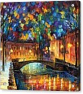City Bridge Acrylic Print