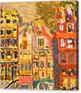 City Buildings Acrylic Print