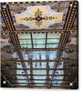 City Ceilings Acrylic Print