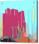 City Color 3 Acrylic Print