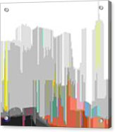 City Color Acrylic Print