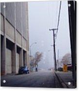 City Fog Acrylic Print