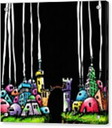 City Gap Acrylic Print