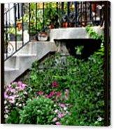 City Garden Acrylic Print