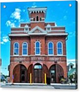 City Hall And Fire Department Acrylic Print