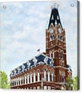 City Hall circa1873 Belleville Ontario Acrylic Print