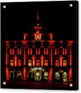City Hall In Uppsala Acrylic Print
