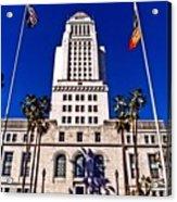 City Hall La Acrylic Print