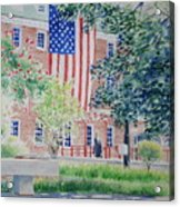 City Hall Old Town Alexandria Virginia Acrylic Print