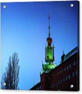 City Hall Tower Acrylic Print